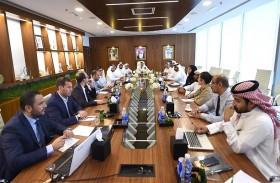 اللجنة المنظمة تبحث الاستعدادات للنسخة الخامسة من طواف دبي الدولي للدراجات الهوائية