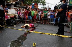 32 قتيلا في حرب الفلبين ضد المخدرات