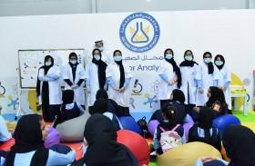 «الرقابة الغذائية» يستقبل  5 آلاف زائر في «أبوظبي للعلوم»