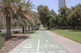 بلدية مدينة أبوظبي تنشئ وتطور ممرات مشاة رياضية بمناطق متفرقة في جزيرة أبوظبي والبر الرئيسي