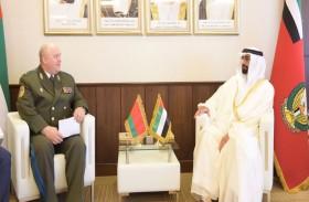 البواردي يلتقي عددا من الوزراء وكبار المسؤولين الزائرين لمعرض دبي للطيران