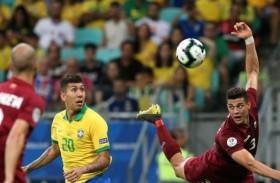 فنزويلا تؤجل تأهل البرازيل للدور الثاني