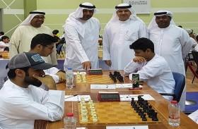 عيسى هلال يدشن الجولة السابعة لبطولة الإمارات للشطرنج