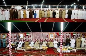 حفل تكريم مسلم بن حم من أبناء العوامر بمناسبة حصولة على جائزة أوائل الإمارات في العمل الخيري والإنساني