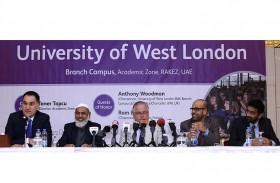جامعة غرب لندن تدشن فرعها في راكز  الأكاديمية برأس الخيمة