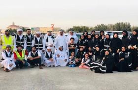 شرطة دبي توزع وجبات إفطار تبرعت بها أسرة المرحوم عبيد الحلو