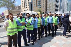 كلية الإمارات للتكنولوجيا تجري تجربة إخلاء وهمية لحرمها الجامعي في زمن قياسي