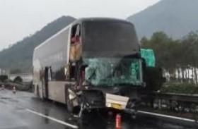 سائق يتسبب في حادث لـ84 شخصا