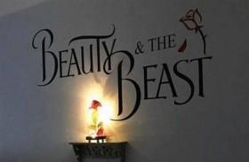 يصممان ديكور غرفة طفلتهما بوحي الحسناء والوحش