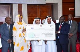 سفارة الدولة تسلم أكثر من 30 مليون درهم من الهلال الأحمر لكفالة 9 آلاف يتيم في السودان