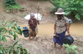تجدد الحرب في ميانمار يدفع عشرات الآلاف للفرار إلى الغابات