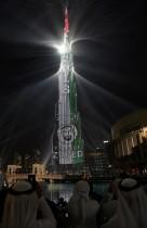 دبي تبهر العالم باحتفالات رأس السنة