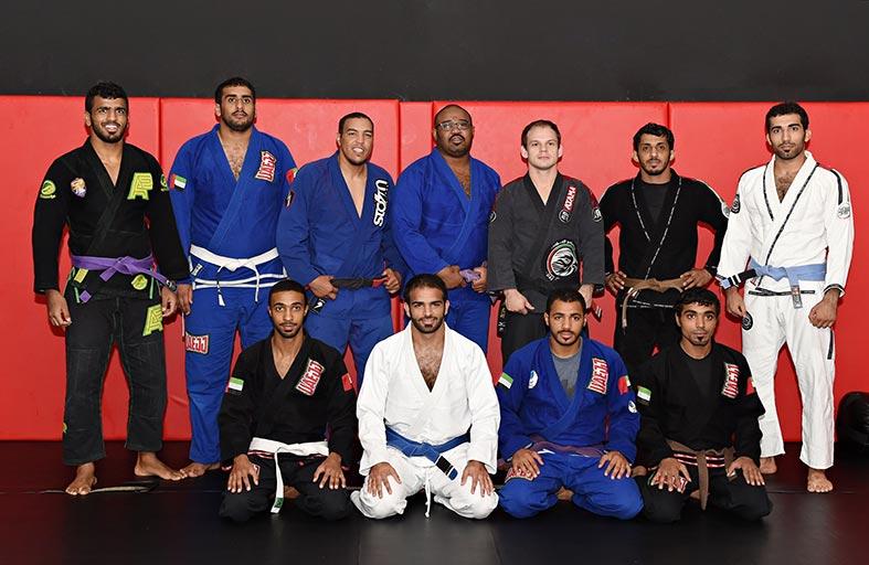جوجيتسو الإمارات يستعد لأولى مشاركاته الآسيوية