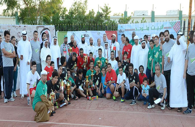 نادي دبا الحصن يقيم ماراثون الرياضة صحة