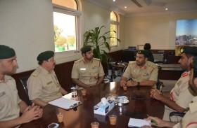 أكاديمية شرطة دبي تناقش آلية اكتشاف مواهب الطلبة والمرشحين