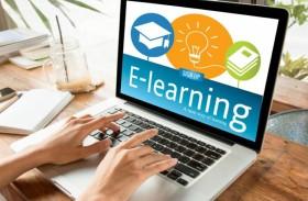 المؤسسات التعليمية الخاصة والعامة يقدمون دروساً عن طريق الانترنت والبث المرئي