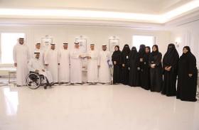 مجلس أصحاب الهمم يحتفل بأسبوع الأصم العربي 43 في محاكم دبي