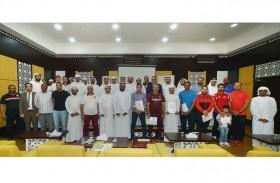 تخريج 60 مشاركا في حفل اختتام دورة الادارة الرياضية المعاصرة في نادي الحمرية الرياضي
