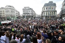 بلجيكا تحيي ذكرى أسوأ اعتداءات في تاريخها