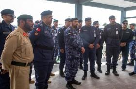 الفريق الشعفار يفتتح المعرض المصاحب لتمرين أمن الخليج العربي 2