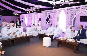 غرفة عجمان تنظم مجلس رمضاني الغبقة  بحضور رجال الأعمال والمستثمرين