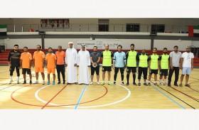 شرطة رأس الخيمة تختتم مسابقة « كرة القدم» ضمن أنشطة الدورة الخامسة للفعاليات الرياضية للمنطقة الأمنية