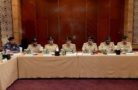 اللواء المري يترأس اجتماع فريق الأزمات والكوارث في دبي