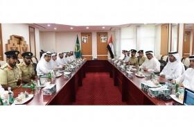 مجلس قيادات الشرطة في وزارة الداخلية يعقد اجتماعه الدوري