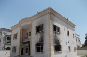 «الأوقاف وشؤون القصر» تتكفل بصيانة منزل «حريق الورقاء»