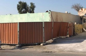 بلدية مدينة أبوظبي تنفذ حملة على الأسوار المؤقتة في مصفح الصناعية وتؤكد على أهمية توفير المعايير المطلوبة