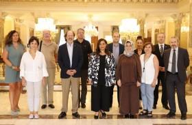 بدور القاسمي تلتقي اتحاد الناشرين الأتراك وتبحث فرص تعافي صناعة الكتاب من جائحة كورونا