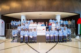 الإمارات العالمية للألمنيوم تحتفل بتخريج  50 شابا إماراتيا ضمن برنامج التدريب الوطني
