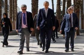 رئيس وزراء بريطانيا الأسبق يحث طلاب جامعة نيويورك أبوظبي على قيادة العالم نحو الأفضل