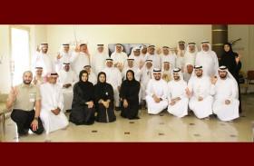 إسعاف دبي تنظم فعالية العودة إلى الماضي لكبار المواطنين