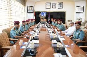 اجتماع القيادة العليا للمنطقة الأمنية في عجمان