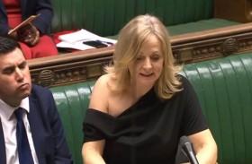 المملكة المتحدة: فستان السيدة النائب يثير الجدل ...!