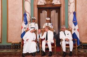 سفير الدولة يقدم أوراق اعتماده للرئيس الدومينيكاني