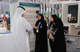 سفراء بالعلوم نفكر يقدمون مشروعاتهم العلمية في معرض ومؤتمر أبوظبي الدولي للبترول