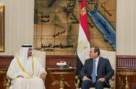 محمد بن زايد يؤكد أهمية التعاون العربي من أجل عودة الاستقرار في المنطقة والتصدي للأجندات المشبوهة
