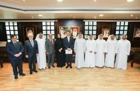 وزير البيئة لجمهورية البرازيل الاتحادية يزور  هيئة كهرباء ومياه دبي للاطلاع على مشاريعها الرائدة