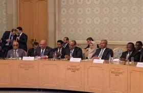 الإمارات تشارك في منتدى التعاون العربي الروسي بموسكو