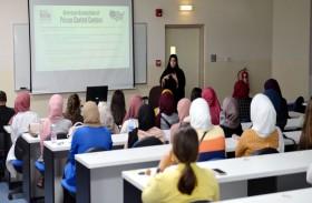 ورشة عمل خدمات المعلومات الدوائية في كلية الصيدلة في جامعة الشارقة