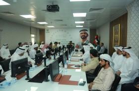 اللجنة الأمنية تناقش تأمين مسارات طوافي الإمارات ودبي النسائي
