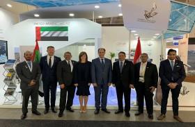 إنجازات دبي تحظى بإشادة واسعة من القطاع البحري العالمــي  في معـرض «نور-شــيبينج 2019» بالنرويــج