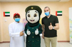 شرطة دبي تشارك أصحاب الهمم فرحة عيد الأضحى المبارك
