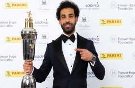 صلاح يفوز بجائزة أفضل لاعب في إنكلترا