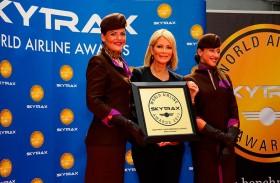 الاتحاد للطيران تحصد ثلاث جوائز مرموقة لفئة الدرجة الأولى ضمن جوائز سكاي تراكس