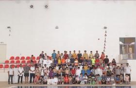 مهرجان للألعاب المائية بصيف نادي الذيد وتكريم الفائزين