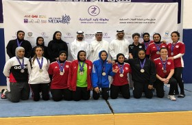 أكاديمية فاطمة بنت مبارك للرياضة النسائية تختتم مشاركتها في بطولة زايد الرياضية