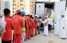 """45 ألف وجبة جديدة توزعها """"بيت الخير"""" ضمن مشروع """"إطعام الطعام"""""""